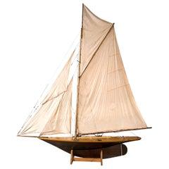 Large Pond Yacht Model
