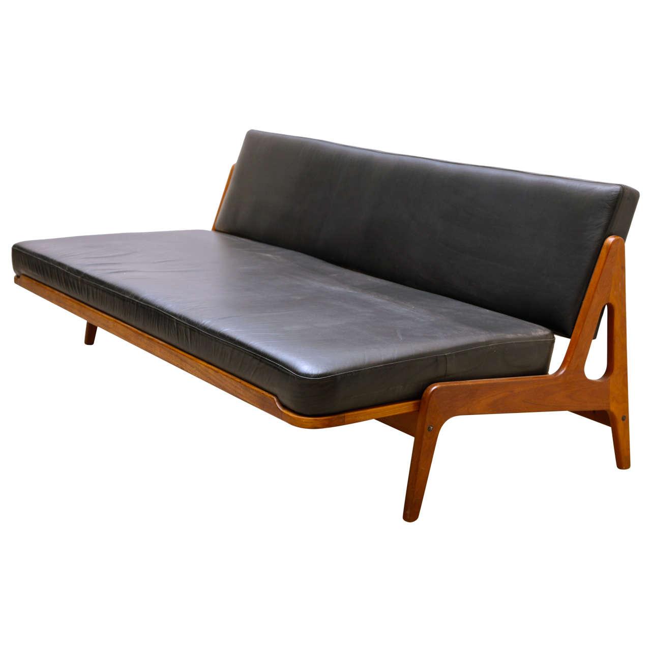 Arne Wahl Iversen By Komfort Teak Sofa And Daybed At 1stdibs