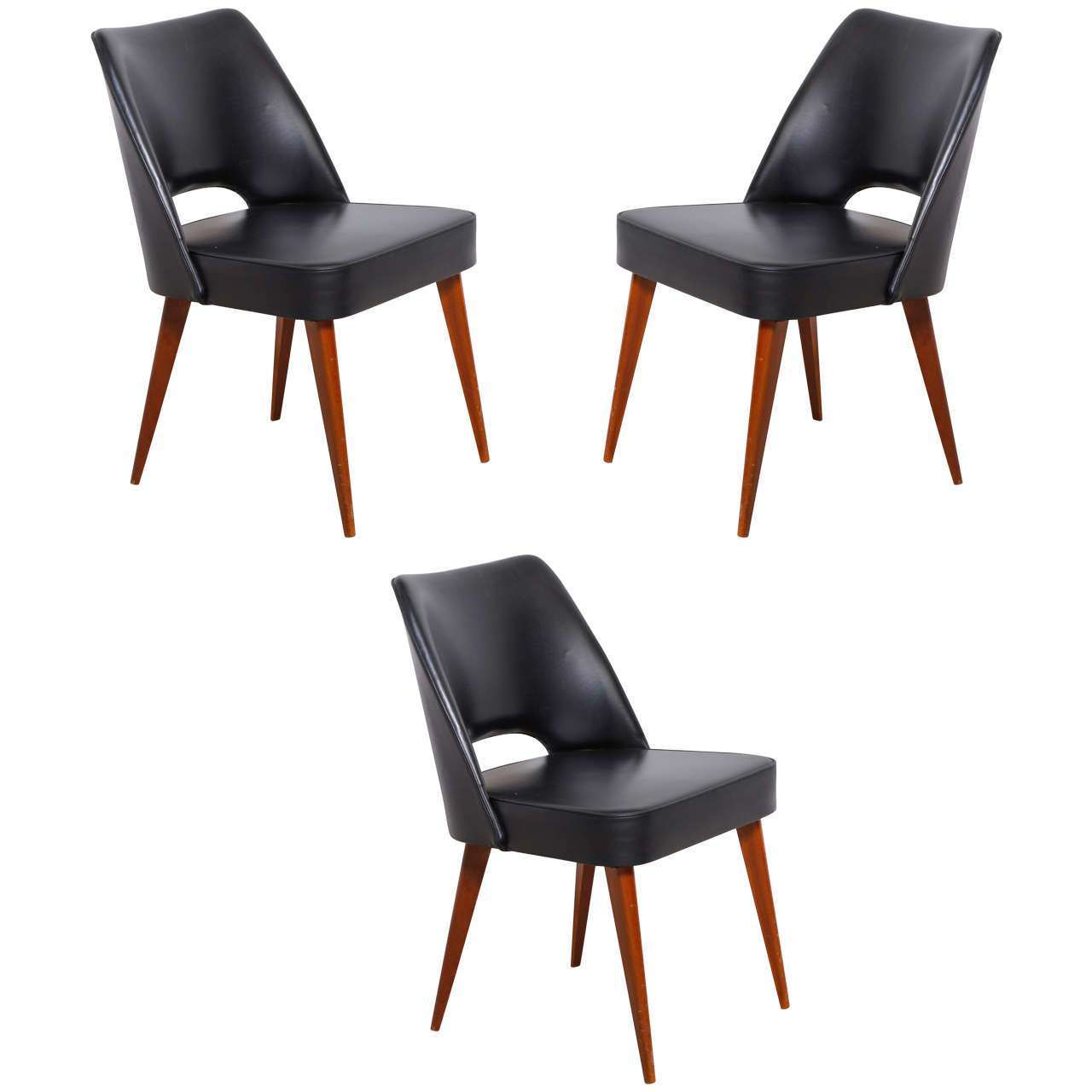 Thonet 1950s dining chairs at 1stdibs for Furniture 1950