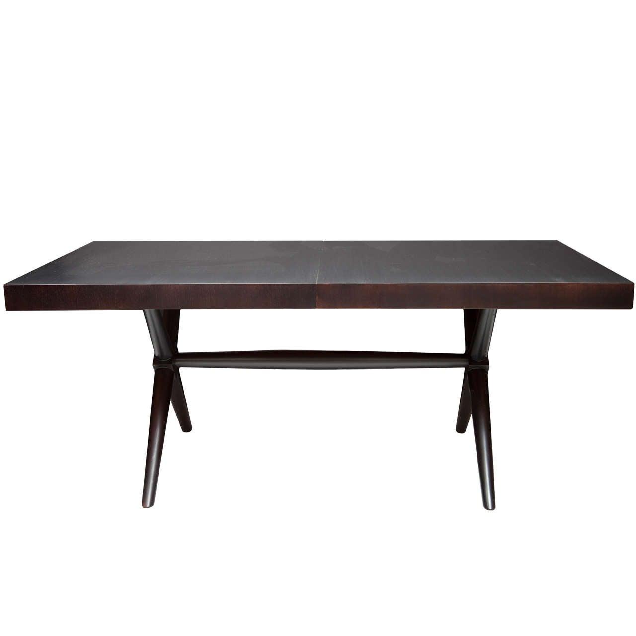 Robsjohn gibbings dining table t h robsjohn gibbings for Table th html