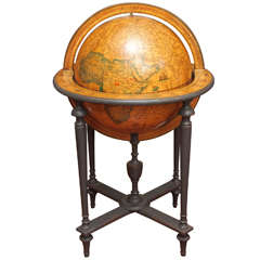 Late 19th Century French Globe