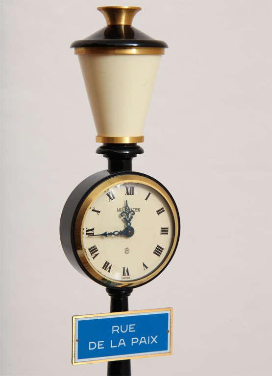 Jaeger-LeCoultre Paris Street Lamp Post Table Clock 3
