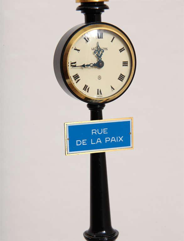 Jaeger-LeCoultre Paris Street Lamp Post Table Clock 5