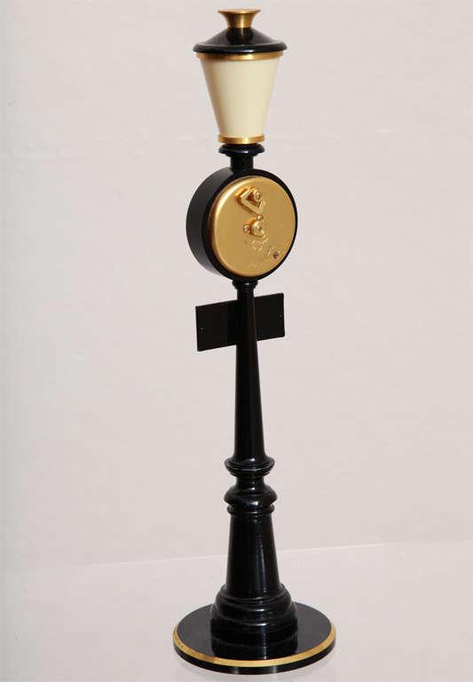 Jaeger-LeCoultre Paris Street Lamp Post Table Clock 7