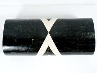Black & White Stone Veneered Jewelry Box by Maitland-Smith, Ltd. thumbnail 6
