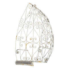 Mod Wrought Iron Hanging Egg Chair