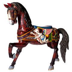 An Early 19th Century Carousel Horse