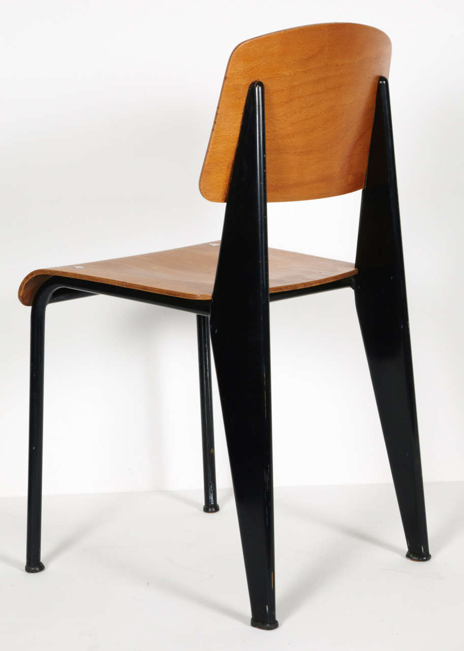 Standard Chair by Jean Prouvé, circa 1950 2
