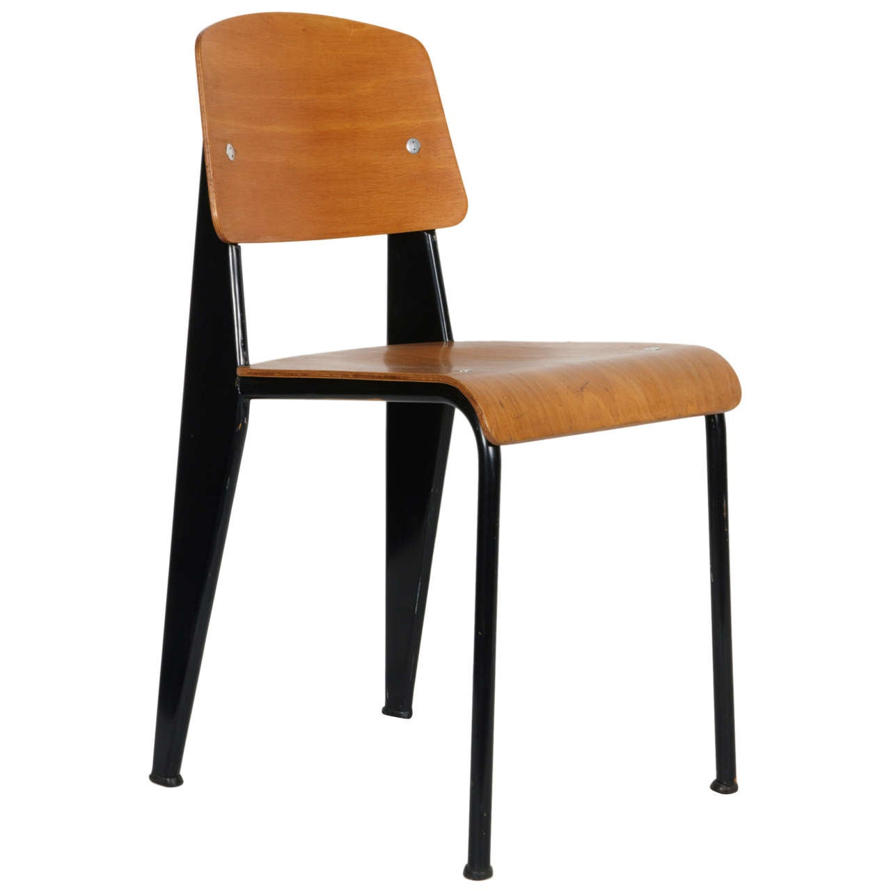 Standard chair by jean prouv circa 1950 at 1stdibs - Chaise standard jean prouve ...