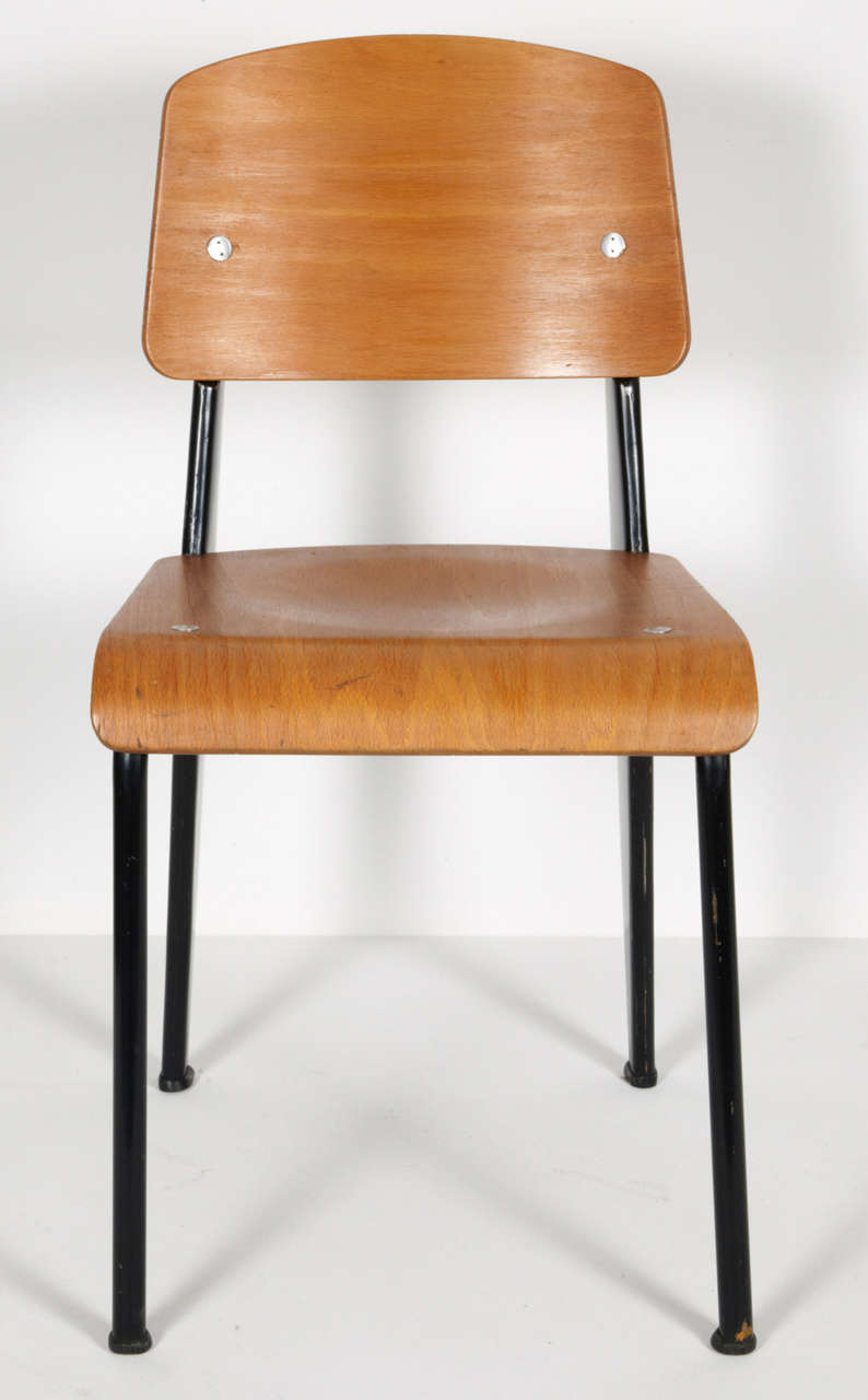Standard Chair by Jean Prouvé, circa 1950 3