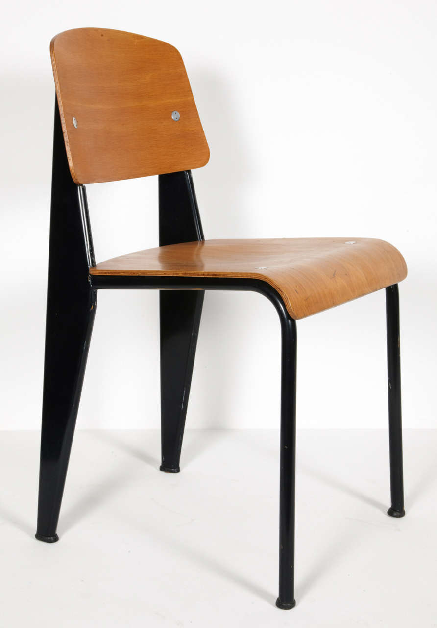 Standard Chair by Jean Prouvé, circa 1950 9