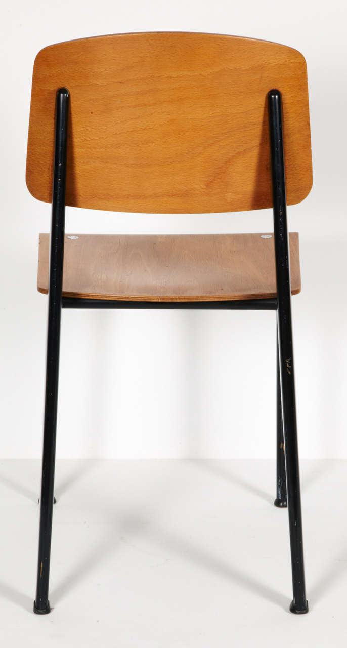 Standard chair by jean prouv circa 1950 at 1stdibs - Jean prouve chaise standard ...