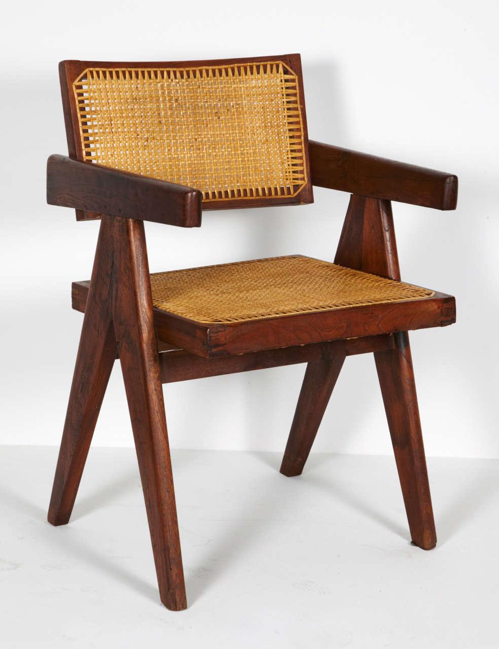 Pierre Jeanneret, Office Chair, circa 1955 2