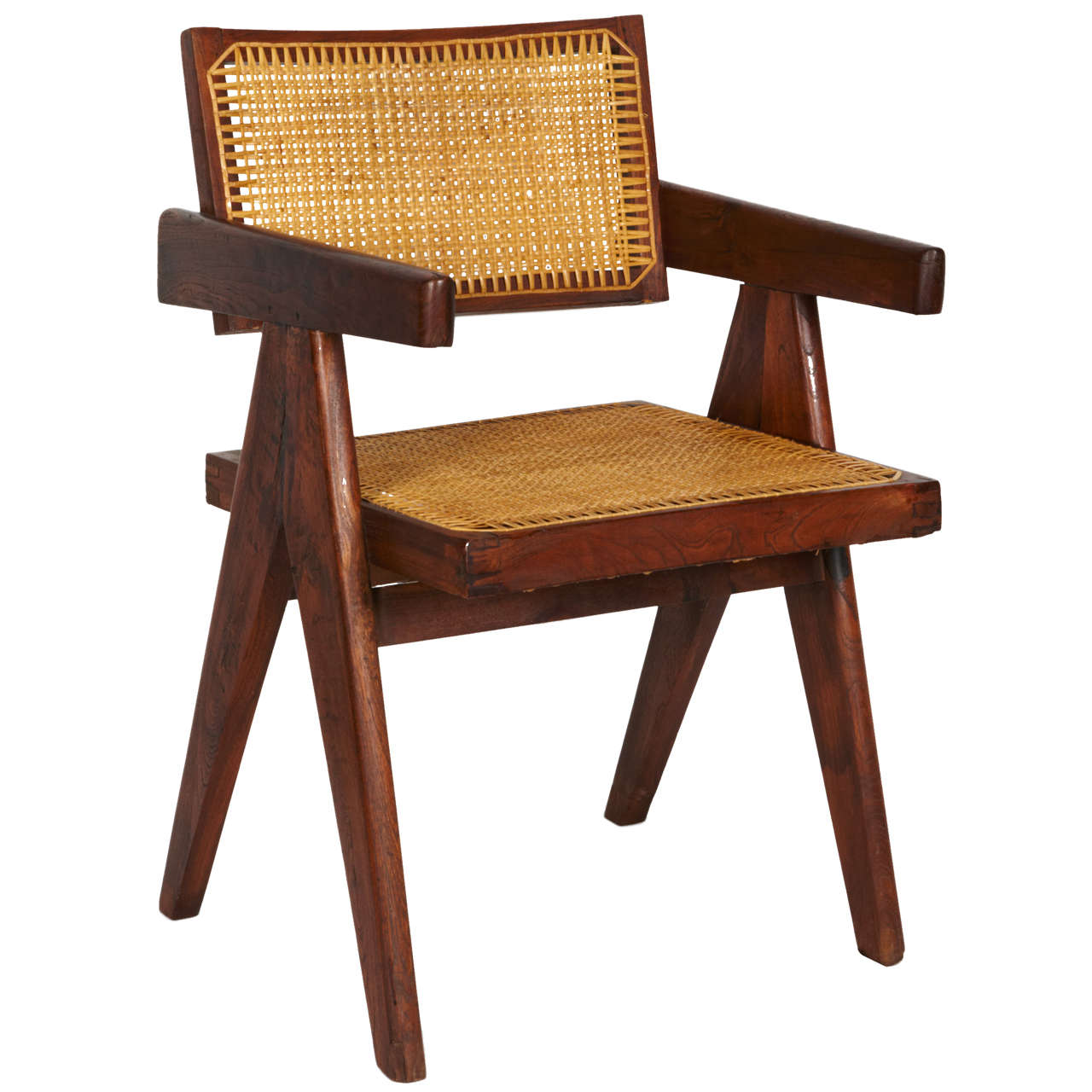 Pierre Jeanneret, Office Chair, circa 1955 For Sale