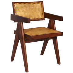 Pierre Jeanneret, Office Chair, circa 1955