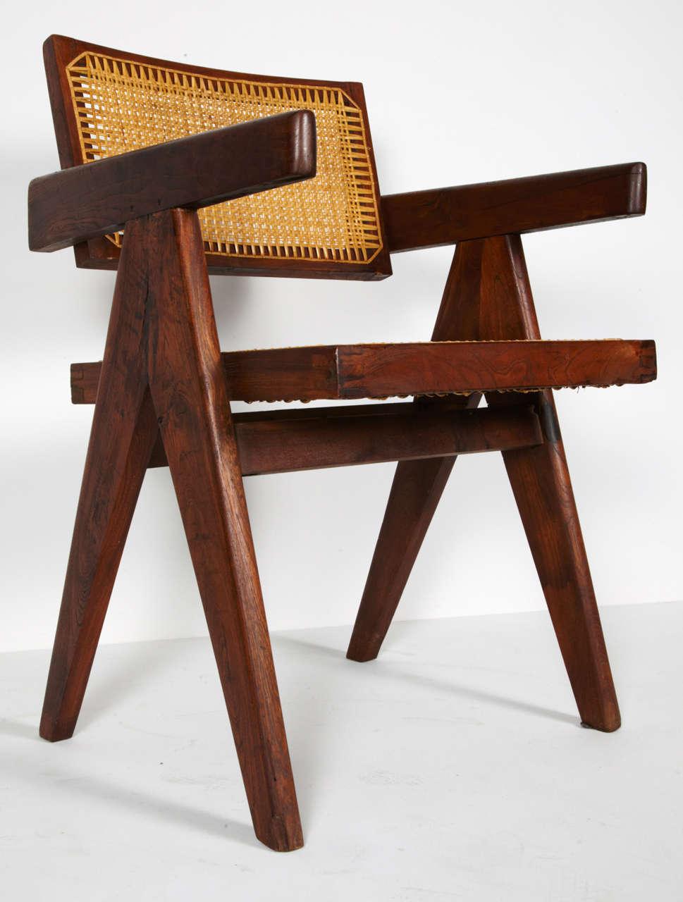 Pierre Jeanneret, Office Chair, circa 1955 9