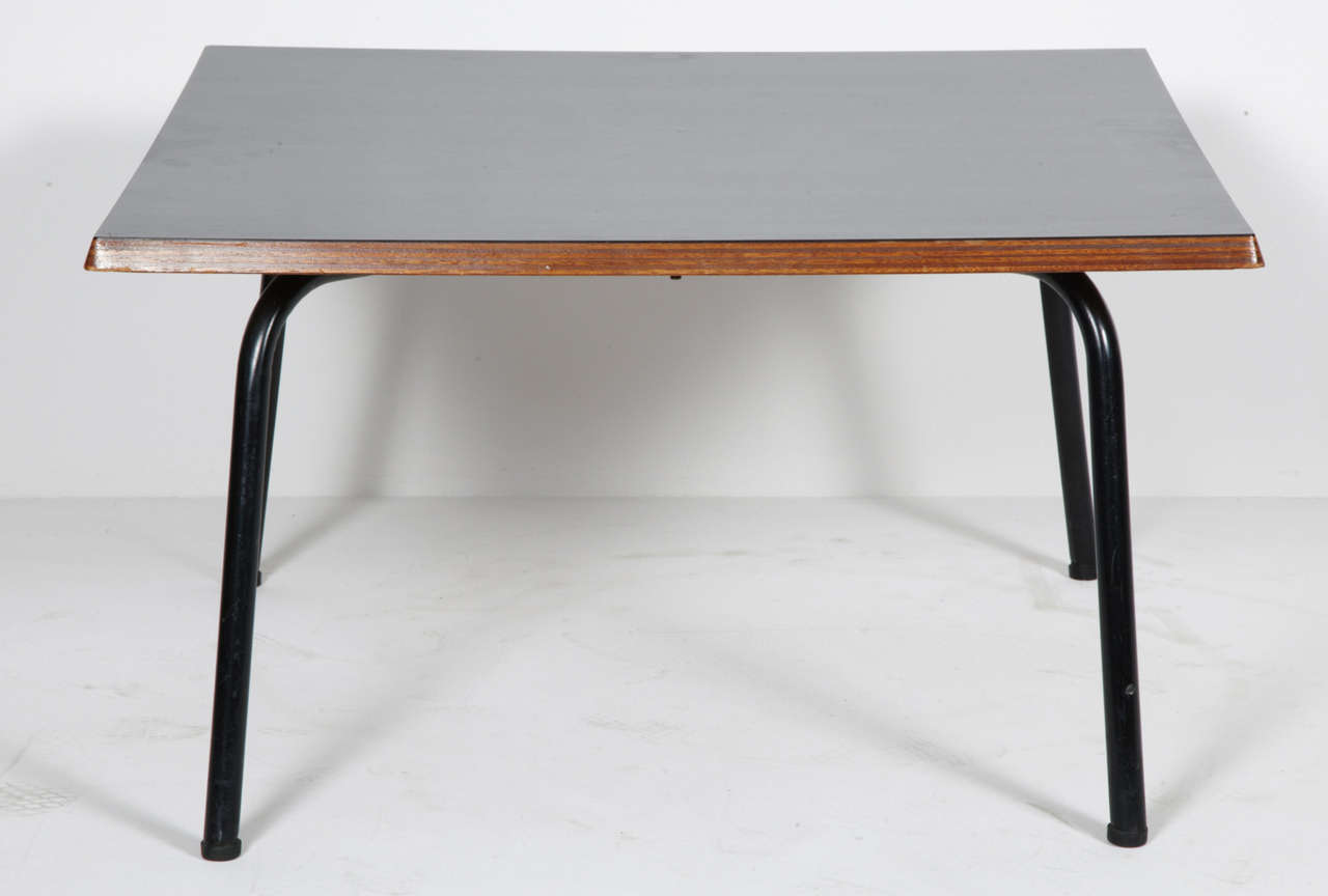 charlotte perriand square coffee table 1953 for sale at 1stdibs. Black Bedroom Furniture Sets. Home Design Ideas