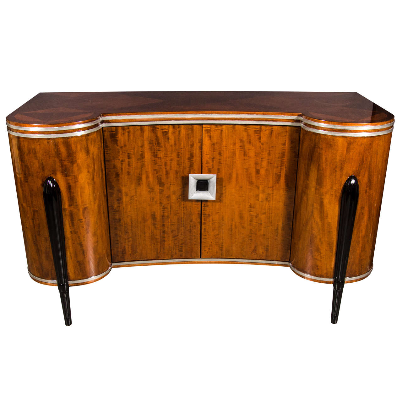 Cool Art Deco Kitchen Cabinets: Stunning Art Deco Buffet/Cabinet In The Manner Of Ruhlmann