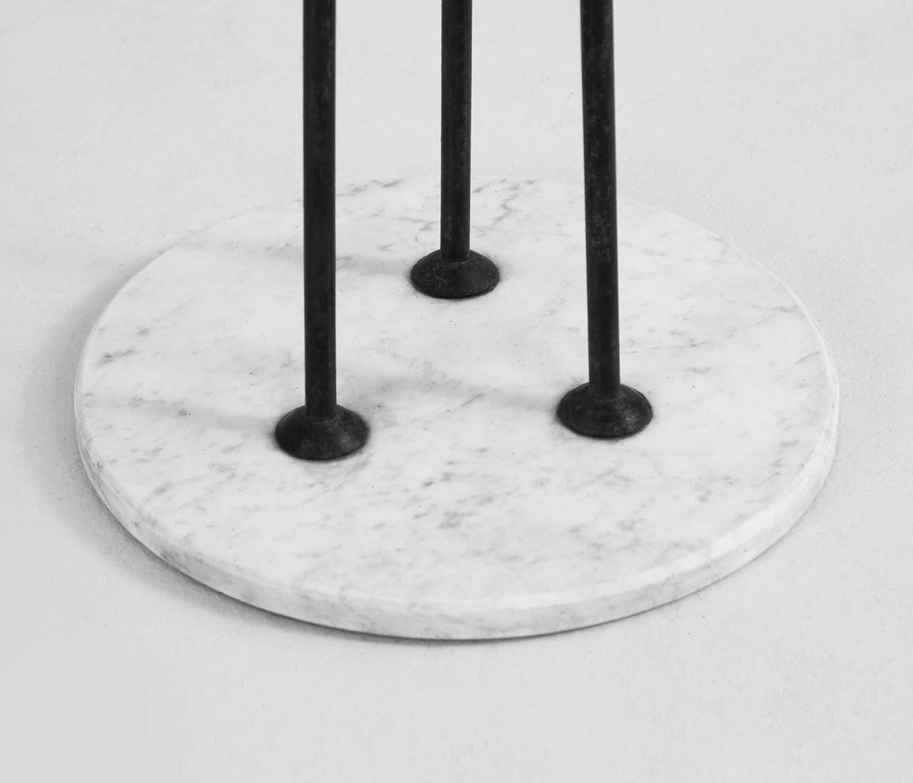 large italian floor lamp with marble base for sale at 1stdibs. Black Bedroom Furniture Sets. Home Design Ideas