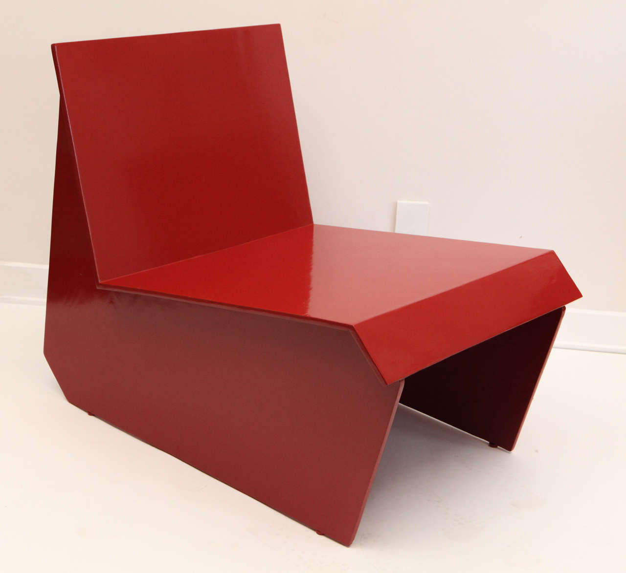 Vintage Lounge Chair After Frank Lloyd Wright For Sale At