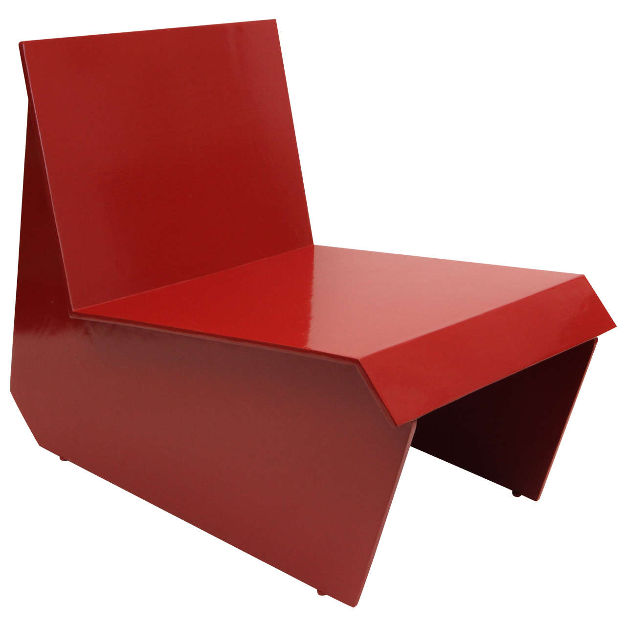 Vintage Lounge Chair After Frank Lloyd Wright 1