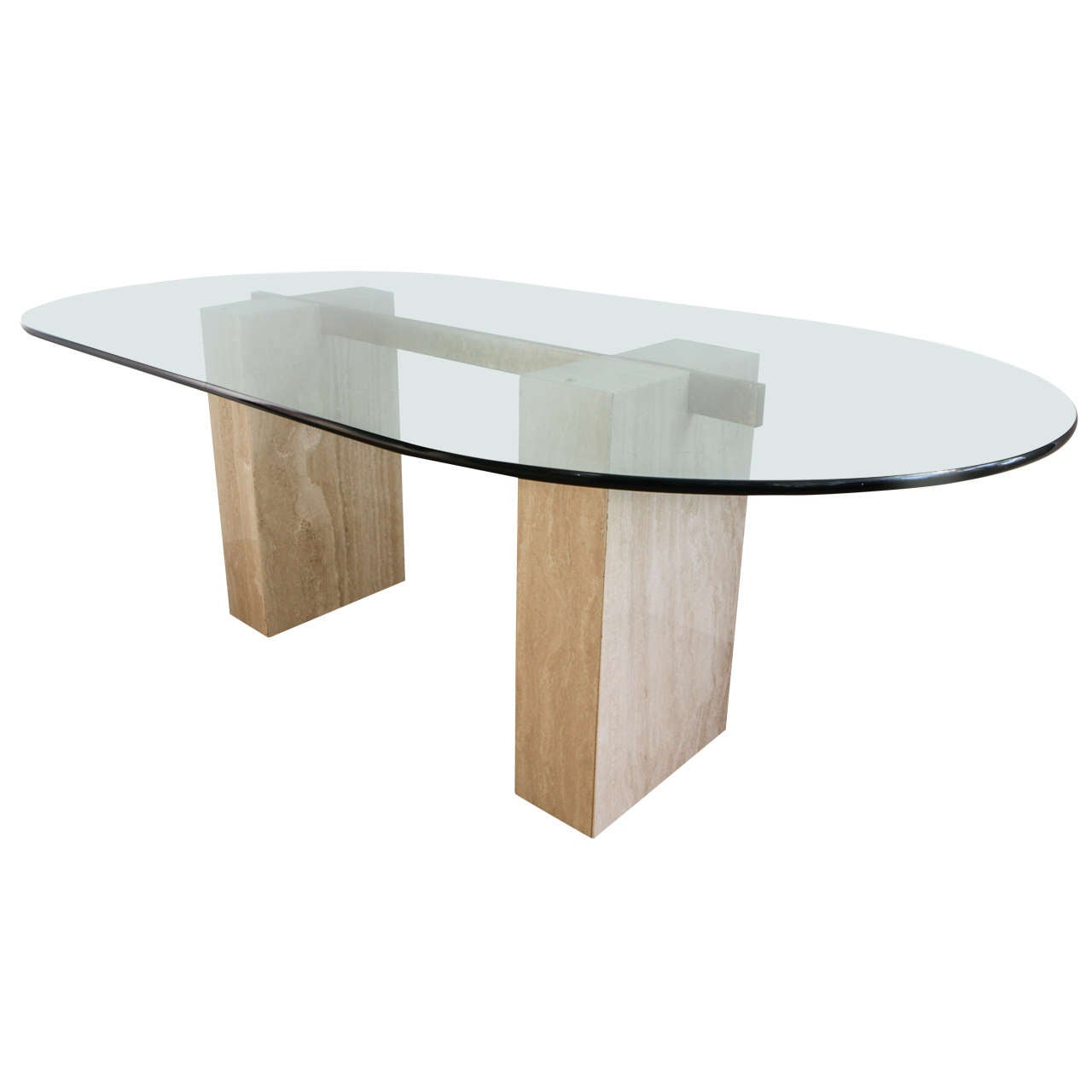 Travertine Dining Room Table Travertine Dining Room Tables 55 For Sale At 1stdibs