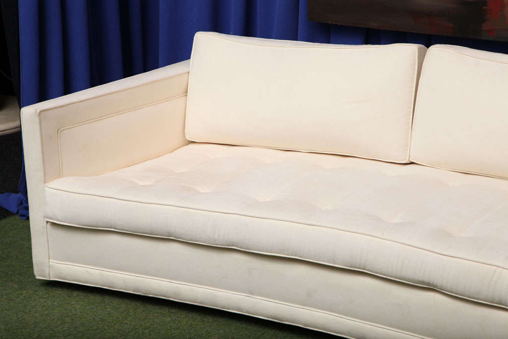 American Made-to-order Curved Sofa For Sale