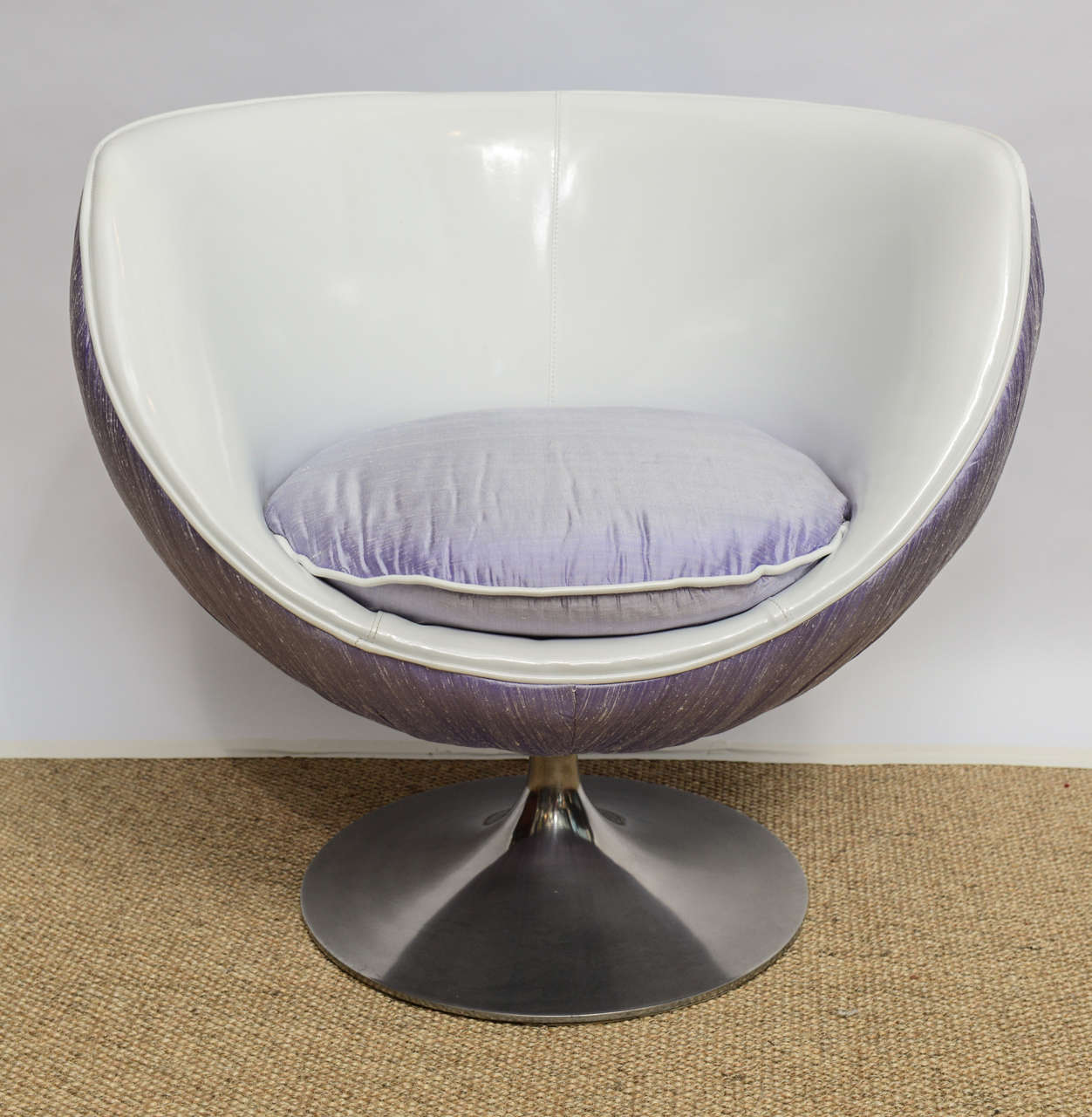 1960 S Space Age Swivel Lounge Chair At 1stdibs