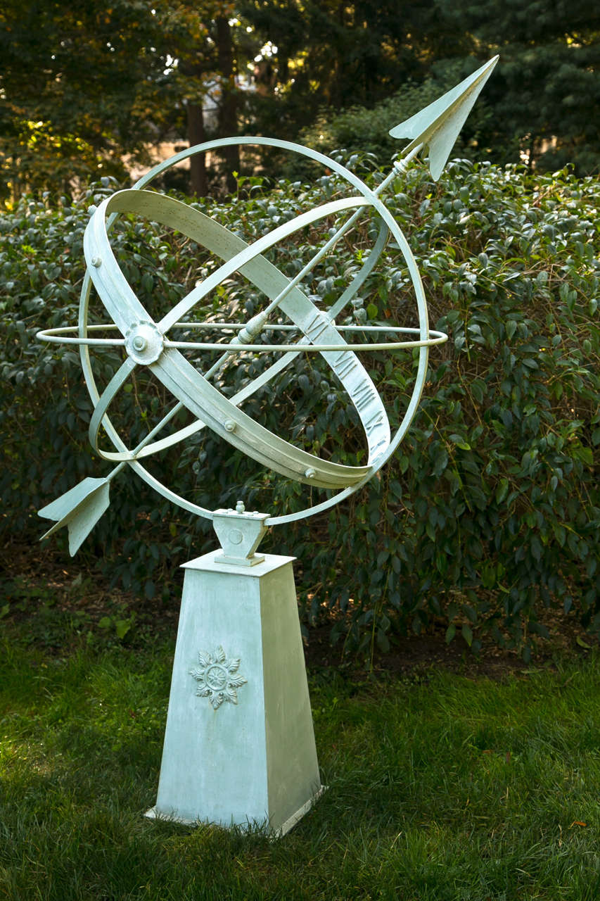 American Armillary Sphere By John Hardacre For Sale