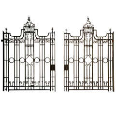 Exceptional 1909 Driveway Gates