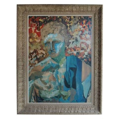 Collage of Classical Roman Figure