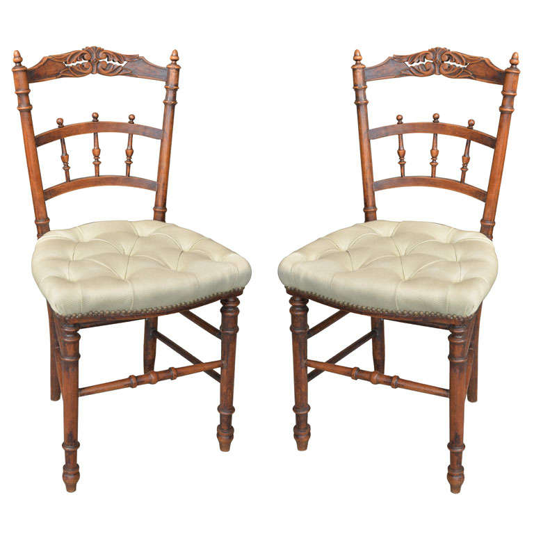 Napoleon III French Chairs