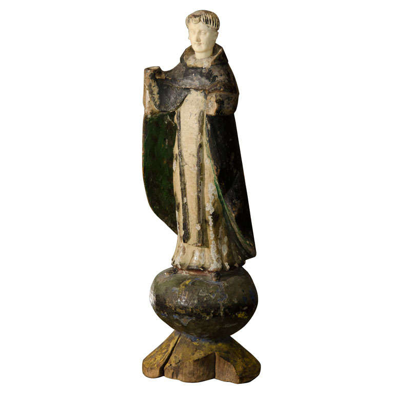 St. Dominic Statue Antique