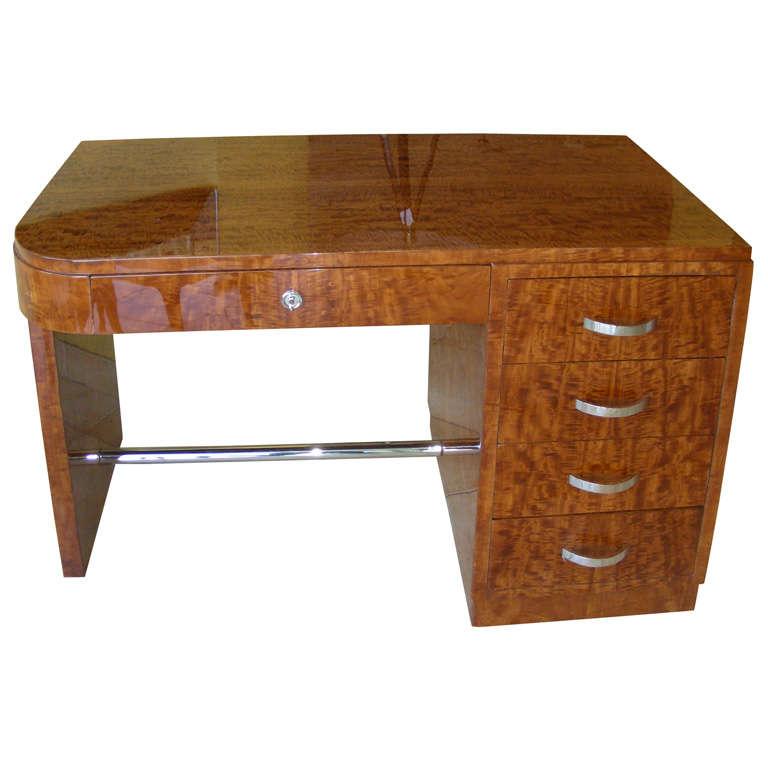 S lemon wood desk at stdibs