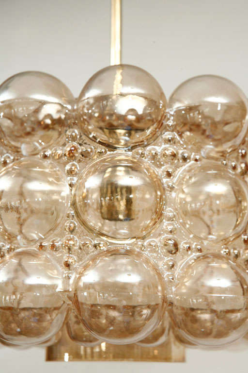 Limburg Bubble Glass Pendant In Excellent Condition In Los Angeles, CA