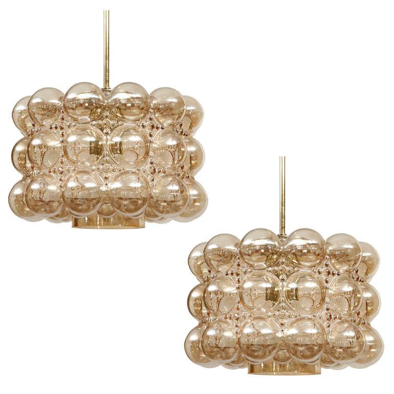 Limburg Bubble Glass Pendant