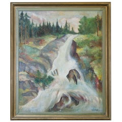 Swedish Landscape, Painting
