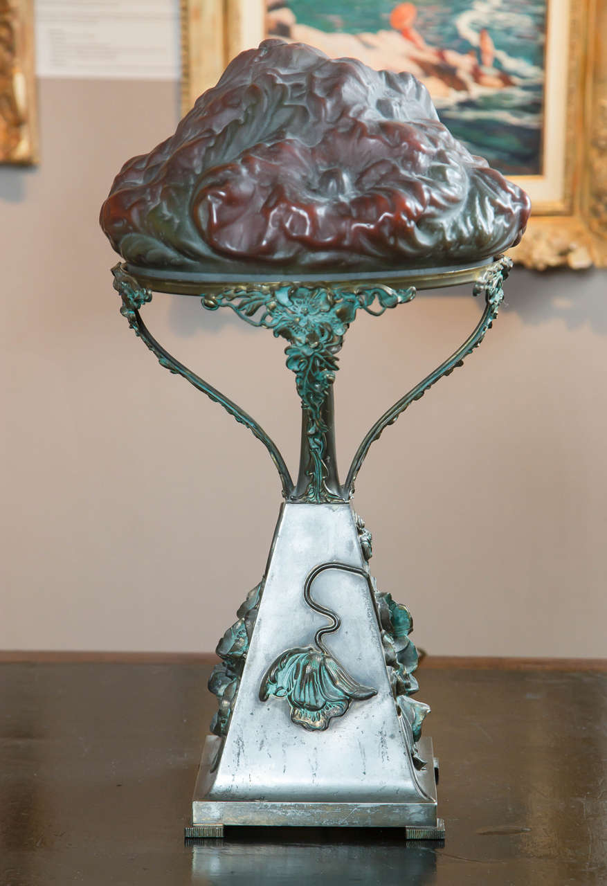 American Pairpoint Puffy Lamp For Sale At 1stdibs