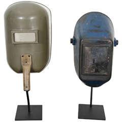 Vintage Welding Masks