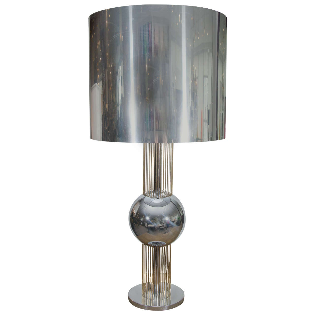 Metal Filament Table Lamp For Sale At 1stdibs
