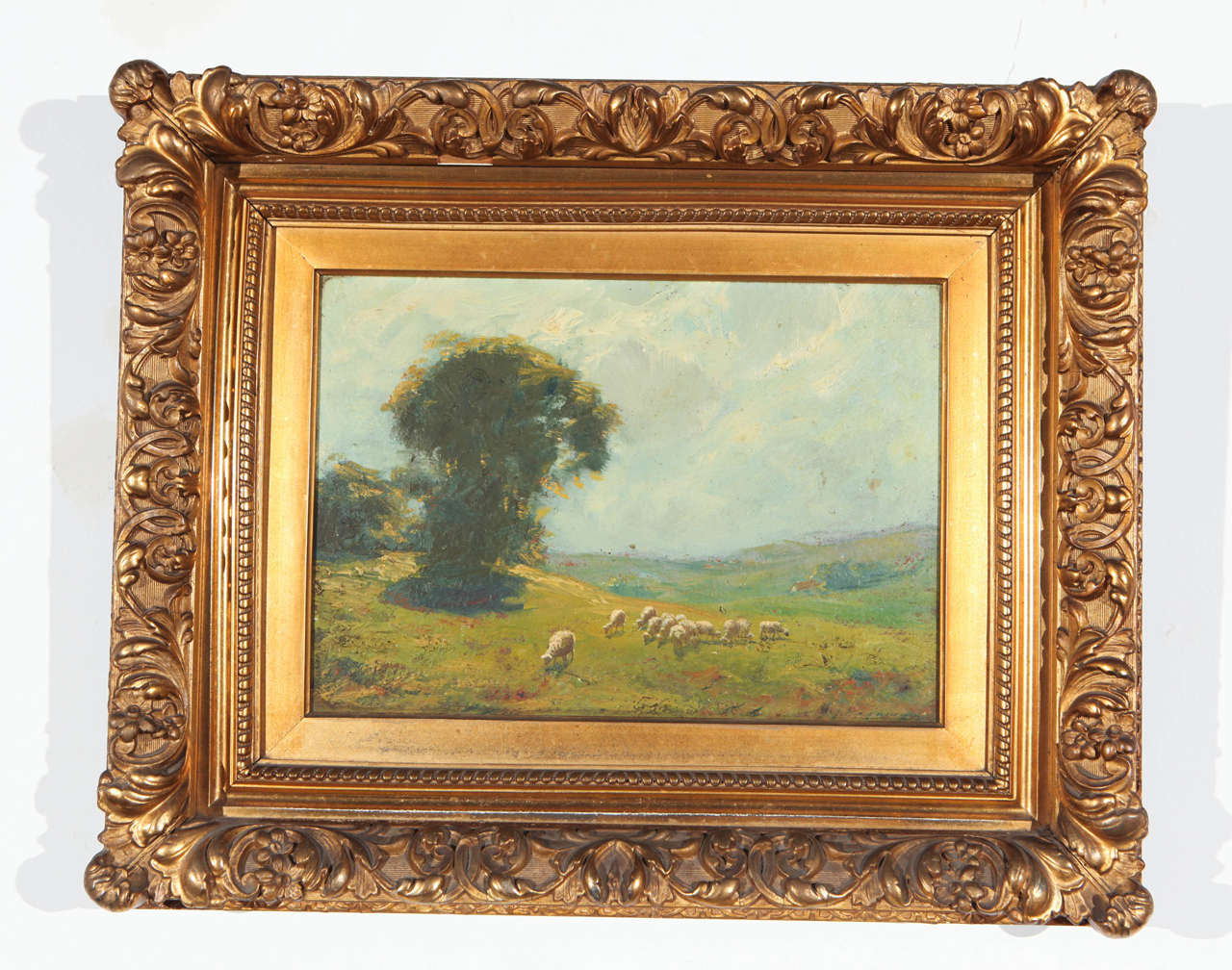 19th Century Old English Landscape Oil Painting 2