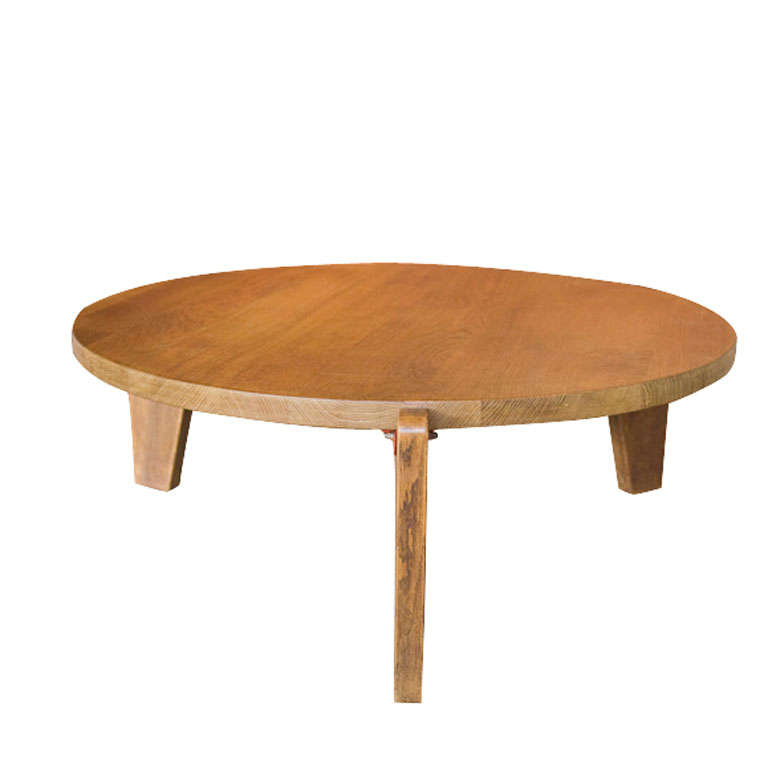 Jean prouve coffee table c 1949 at 1stdibs - Table basse jean prouve ...