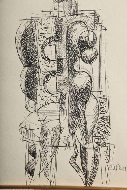 Abbott Pattison Ink on Paper For Sale 2