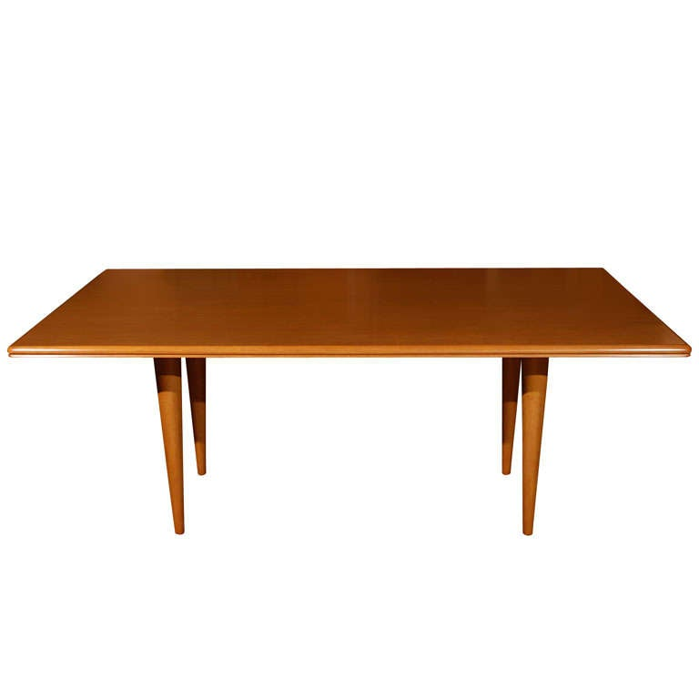 Rectangular Dining Table with Tapered Legs at 1stdibs : x from www.1stdibs.com size 768 x 768 jpeg 15kB