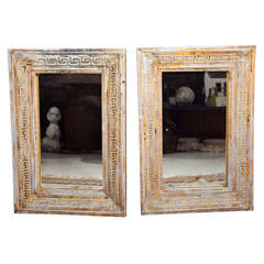 Pair Greek Key Mirrors