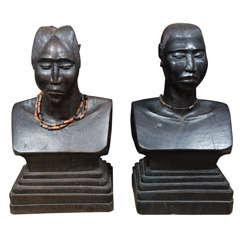 Pair of African Torsos