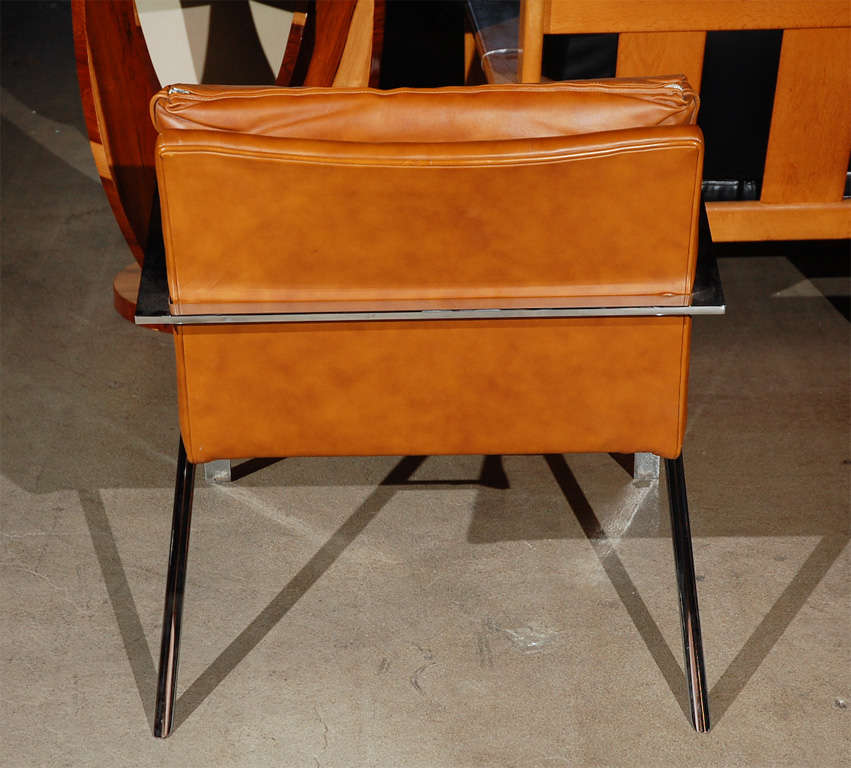20th Century Lounge Chair in the Style of Paul Tuttle For Sale