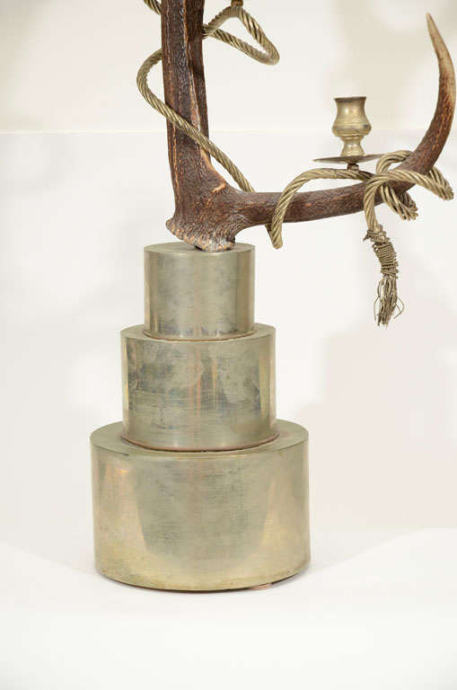 Antler Candelabra by Anthony Redmile For Sale 3
