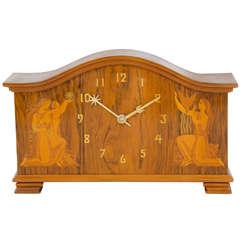 An Early Art Deco Clock