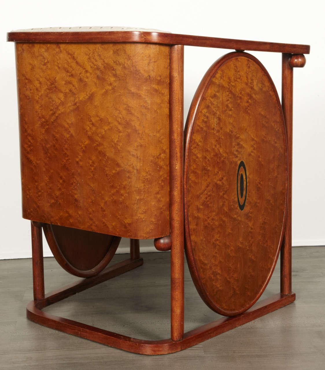 Koloman Moser and Josef Hoffmann Art Nouveau Armchair For Sale 1
